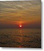 Hatteras Island Sunrise 2 8/21 Metal Print