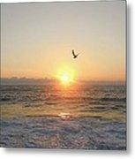 Hatteras Island Sunrise 2 8/23 Metal Print