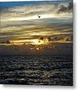 Hatteras Island Sunrise 2 9/10 Metal Print