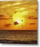 Hatteras Island Sunrise 20 9/3 Metal Print