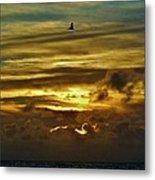 Hatteras Island Sunrise 3 9/10 Metal Print