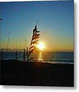 Hatteras Island Sunrise 4 8/23 Metal Print