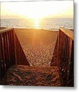 Hatteras Island Sunrise 6 8/23 Metal Print