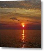 Hatteras Island Sunrise 8/18 Metal Print