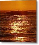 Hatteras Sunrise 16 8/6 Metal Print