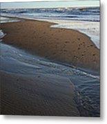 Hatteras Tidal Pools Metal Print by Steven Ainsworth
