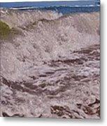 Hatteras Wave 1 7/21 Metal Print