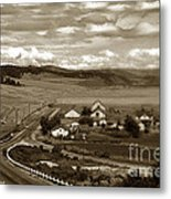 Hatton Ranch Carmel Valley From Highway One California  1940 Metal Print