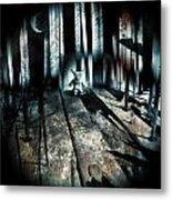 Haunted 9 Metal Print by John Magnet Bell