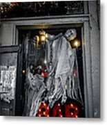 Haunted Bar Metal Print