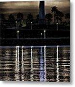 Haunted Lighthouse Metal Print