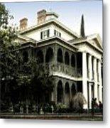 Haunted Mansion New Orleans Disneyland Metal Print