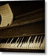 Haunted Melody Metal Print by Amy Weiss