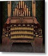 Haunted Pipe Organ Metal Print