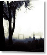 Haunting On All Hallow's Eve Metal Print