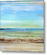 Hauxley Haven Low Tide Rhythms And Textures 1c Metal Print