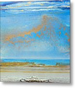 Hauxley Haven Rhythms And Blues  Metal Print by Mike   Bell