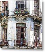 Havana Balconies Metal Print