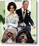 Havanese Art - Father Of The Bride Movie Poster Metal Print