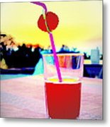Have A Drink With Me Or Just Go Away And Never Come Back  Metal Print