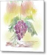 Have A Grape Day Metal Print