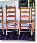 Have A Seat. Metal Print
