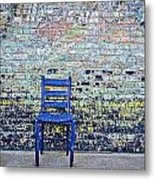 Have A Seat Metal Print by Kelly Kitchens