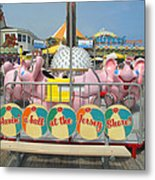 Havin A Ball Metal Print