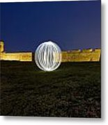 Having A Ball At The Fort Metal Print