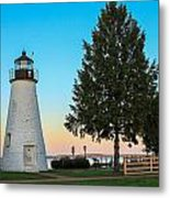 Concord Point Light ... Havre De Grace Md Metal Print