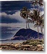 Hawaii Big Island Coastline V3 Metal Print