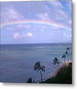 Hawaii Rainbow Metal Print