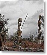 Hawaii Sculptures Metal Print