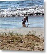 Beach Boy Metal Print