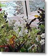 Hawaiian Garden Metal Print