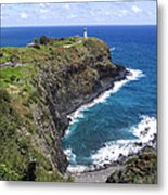 Hawaiian Lighthouse Metal Print