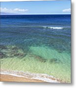 Hawaiian Ocean Metal Print