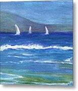 Hawaiian Sail Metal Print