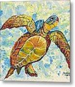 Hawaiian Sea Turtle 2 Metal Print