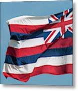 Hawaiian State Flag, Oahu, Hawaii Metal Print