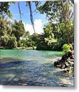Hawaiian Landscape Metal Print
