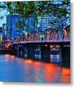 Hawthorne Bridge 22958 Metal Print