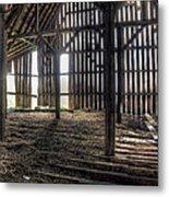 Hay Loft 2 Metal Print by Scott Norris