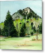 Haystack Mountain Castle Hill Me Metal Print