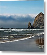Haystack Metal Print by Robert Bales
