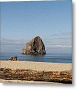 Haystack Rock 2 - Pacific City Oregon Coast Metal Print