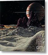 Hd 168443 System Metal Print by Lynette Cook