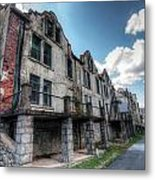 Hdr - National Park Seminary After Irene Metal Print