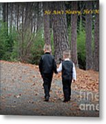 He Aint Heavy/ Hes My Brother Metal Print