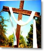 He Has Risen Metal Print